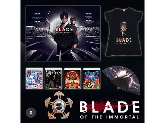 Blade of the Immortal bundle sweepstakes