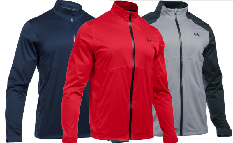 WIN AN UNDER ARMOUR STORM 3 WATERPROOF JACKET  sweepstakes
