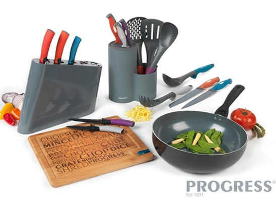 a set of Progress kitchen goodies sweepstakes