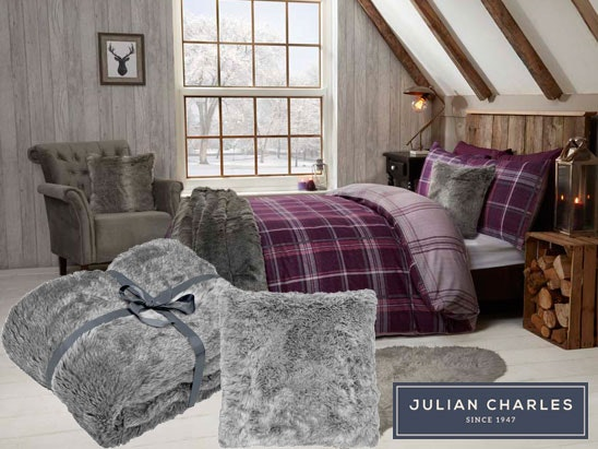 a Julian Charles complete bedding set sweepstakes