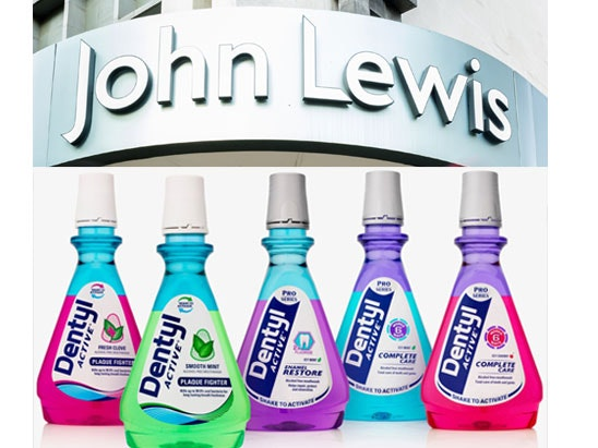 £500 John Lewis Voucher with Dentyl Active sweepstakes