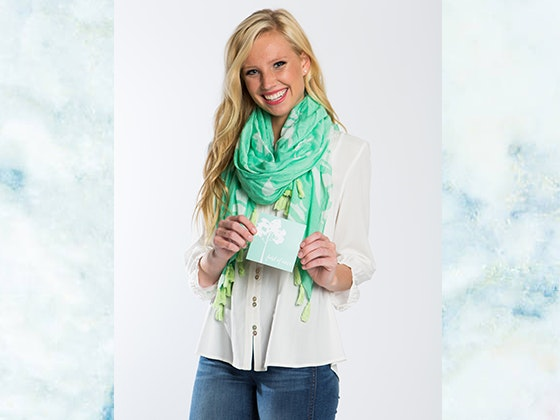 CROSBY by Mollie Burch Wellspring Living Scarf sweepstakes