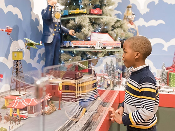 Personalized Rail Car from The Trains at Northpark sweepstakes