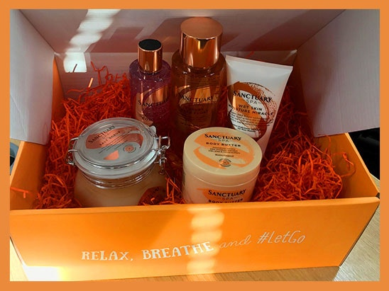 Sancturay Spa relaxation kit sweepstakes