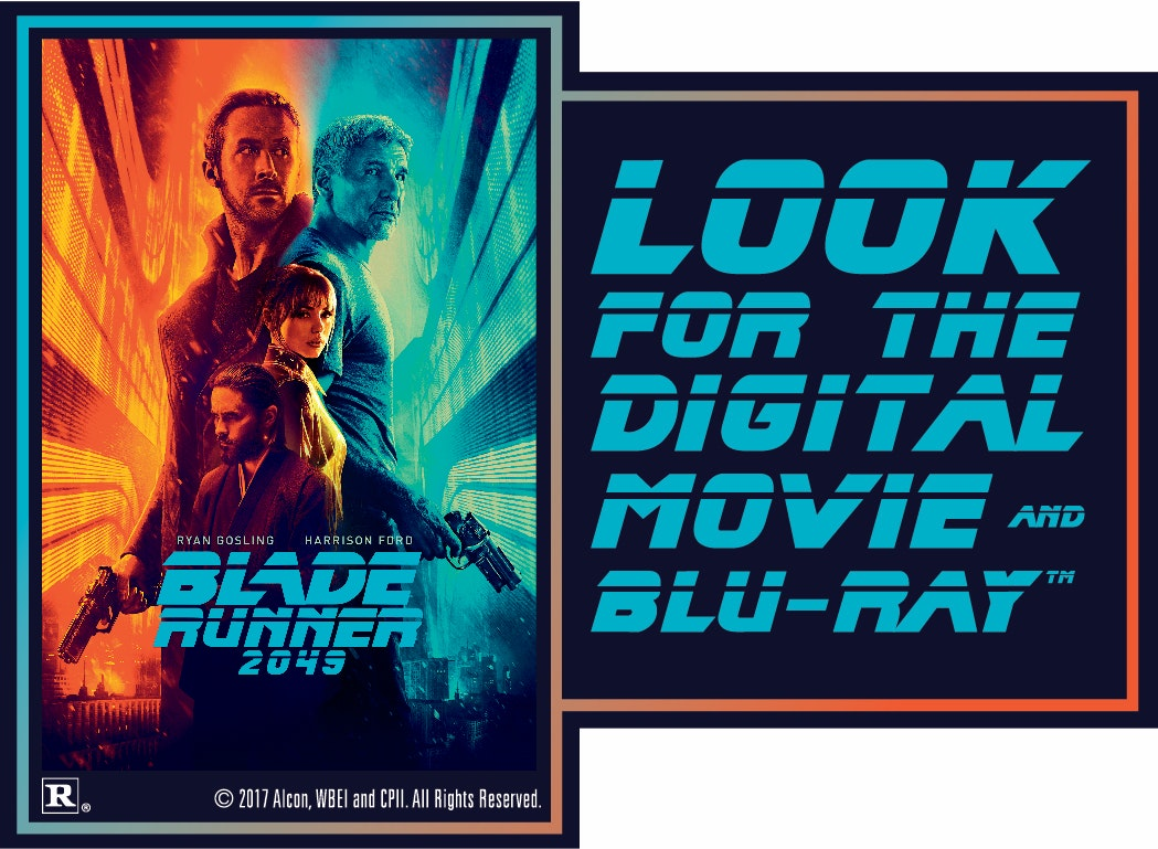 """Blade Runner 2049"" on Digital sweepstakes"