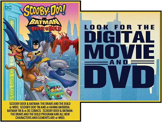 Scoobydoo and batman dvd giveaway