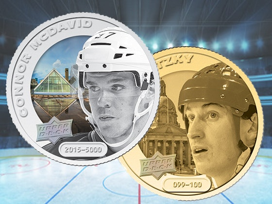 Upper Deck Grandeur Hockey Coins sweepstakes
