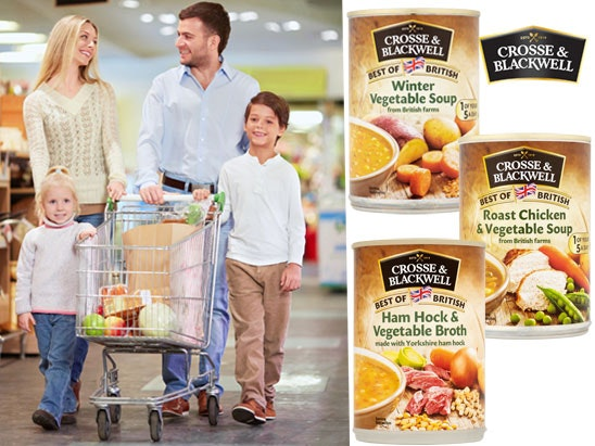 £500 in supermarket vouchers with Crosse & Blackwell  sweepstakes