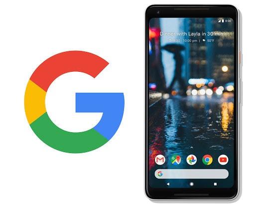 Google pixel 2 mobile phone compeition