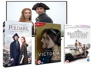 Tv poldark victoria brideshead revisited dvd itv drama competition