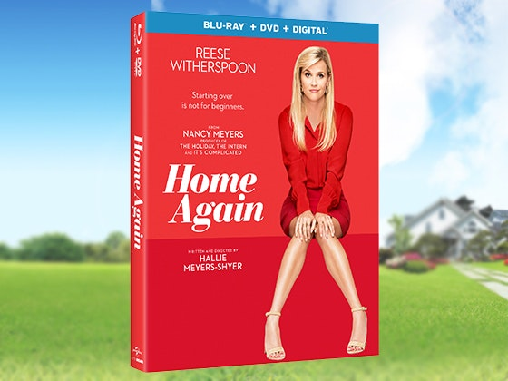 """Home Again"" Blu-ray + Prize Bundle sweepstakes"