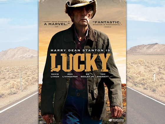 """LUCKY"" on DVD sweepstakes"