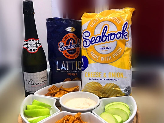 Seabrook Snack Set and Prosecco sweepstakes
