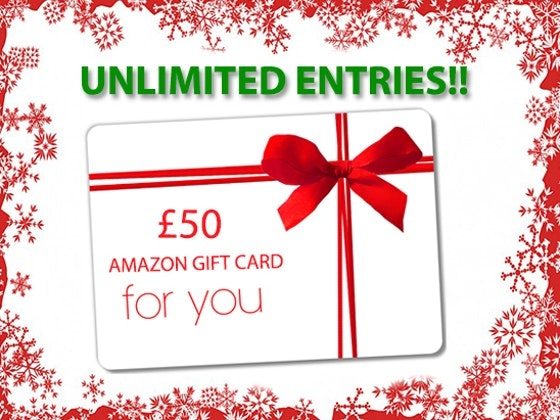 Win a £50 Amazon gift card! sweepstakes
