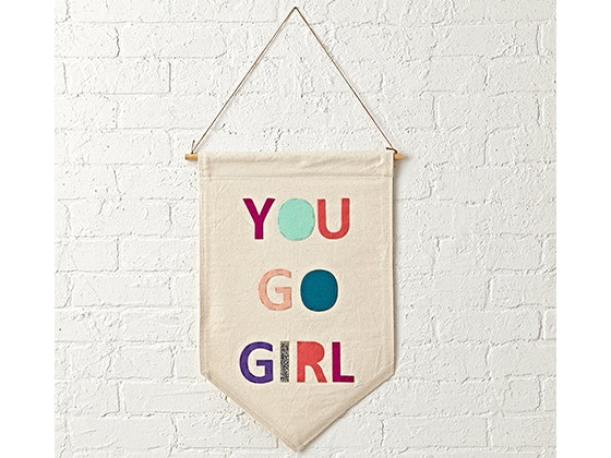 You Go Girl Banner sweepstakes