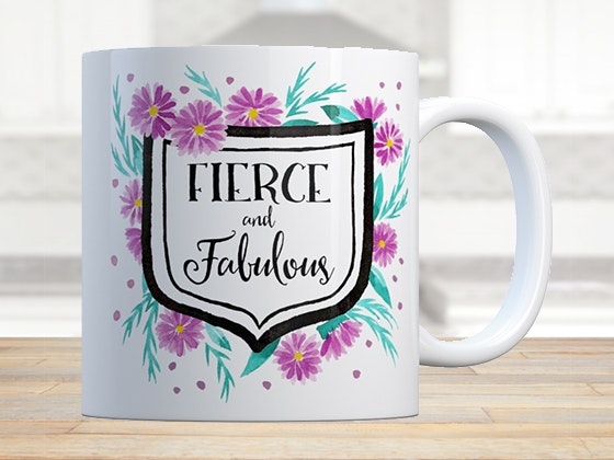 Fierce and Fabulous Mug sweepstakes