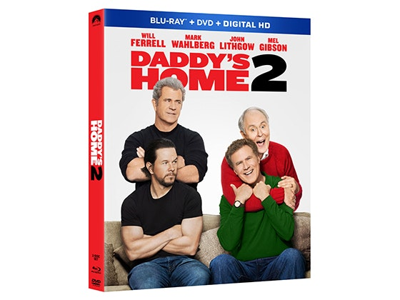 Daddy's Home 2 on DVD sweepstakes
