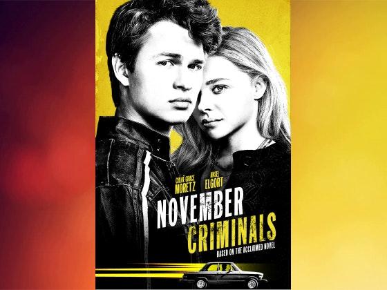 November criminals dvd giveaway