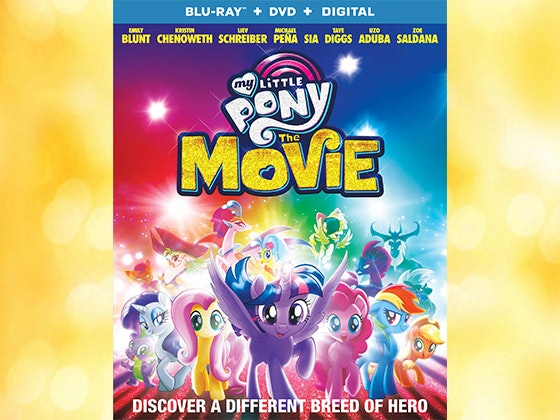 """""""My Little Pony: The Movie"""" on DVD sweepstakes"""