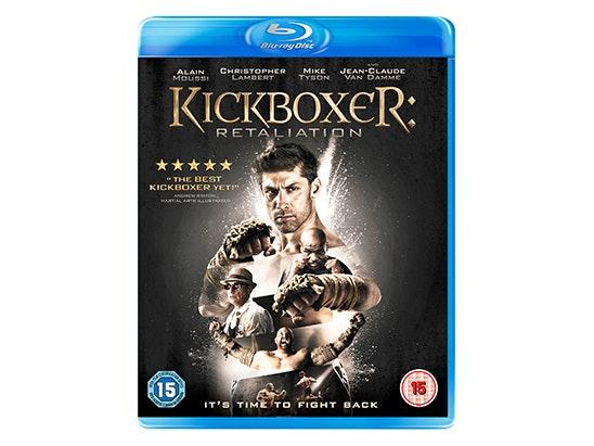 Win a copy of KICKBOXER: RETALIATION on Blu-ray  sweepstakes