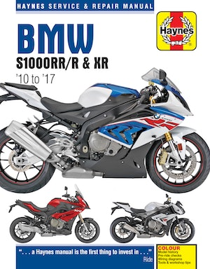 Bmw s1000rr r and xr  front cover image