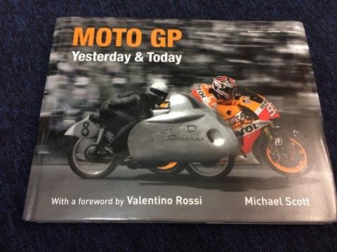 Moto GP Yesterday & Today book sweepstakes