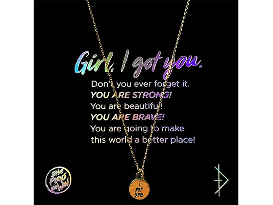 """I Got You"" Necklace sweepstakes"