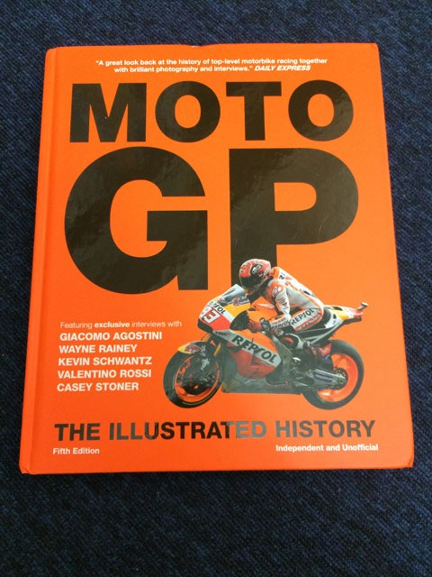 Moto GP The Illustrated History Book sweepstakes