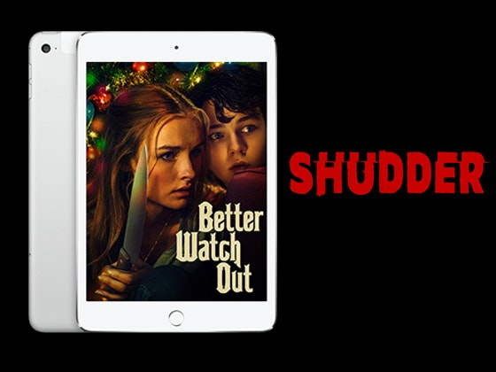 AMC Shudder Subscription + iPad mini 4 sweepstakes