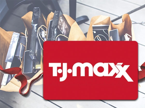 Flash Prize: $50 TJ Maxx Gift Card sweepstakes