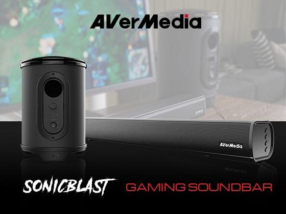 AVerMedia SonicBlast Gaming Soundbar and Subwoofer sweepstakes