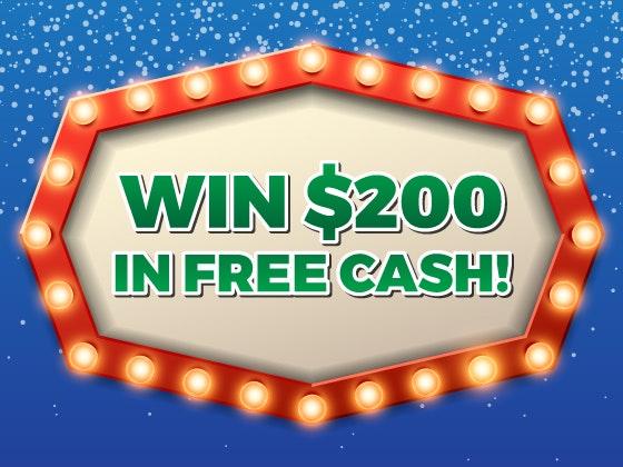 200 cash giveaway decemberjanuary