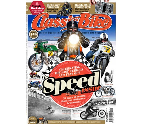 12 month subscription to Classic Bike magazine sweepstakes