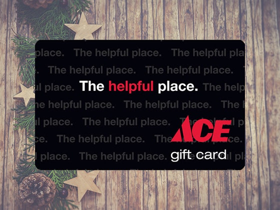 $100 Ace Hardware Gift Card! sweepstakes