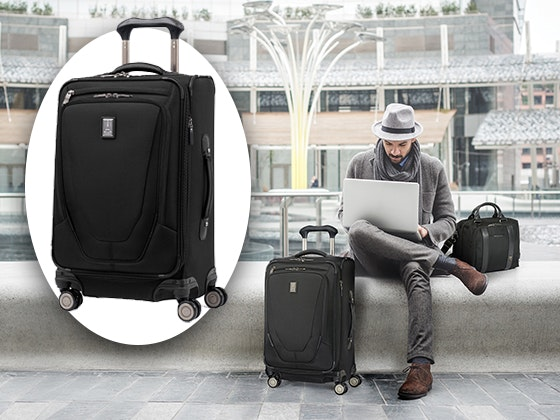 TravelPro Crew Expandable Spinner Suitcase sweepstakes