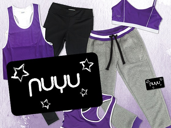 $100 nuyu Gift Card sweepstakes