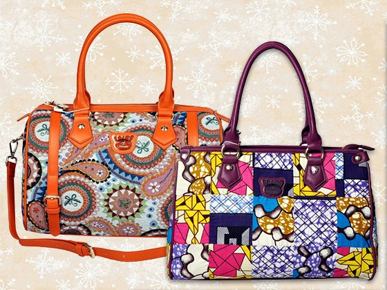 Two Fricaine Exotic Satchels sweepstakes