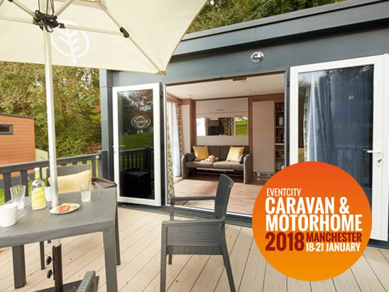 Caravan and motorhome show manchester claming pod competition