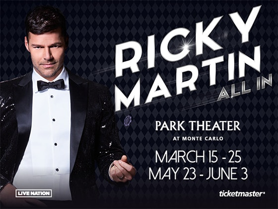 Ricky Martin Concert sweepstakes