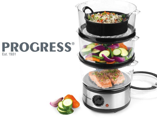 a Progress 3-Tier Steamer sweepstakes