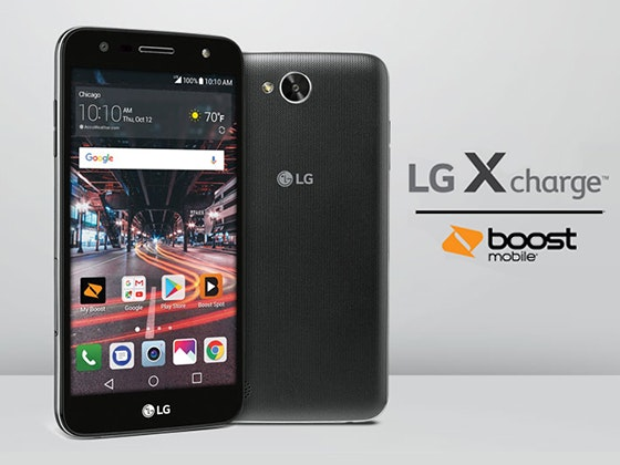 LG X charge Smartphone from Boost Mobile sweepstakes