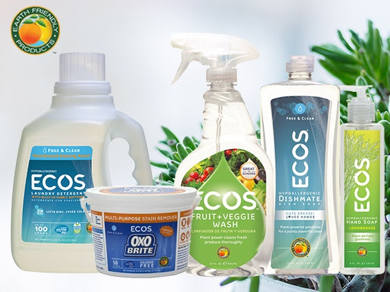 ECOS Cleaning Products Giveaway sweepstakes
