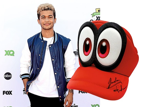 Jordan Fisher's Signed Super Mario Hat sweepstakes