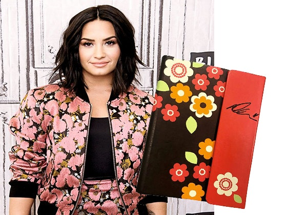 Demi lovato signed notebook giveaway