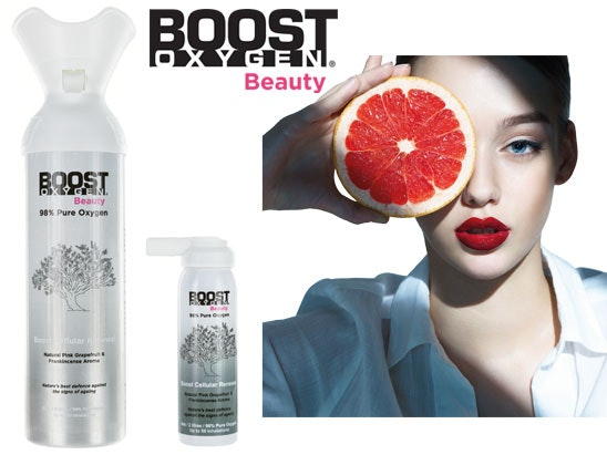 Boost Oxygen Beauty sweepstakes