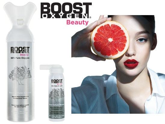Boost Oxygen Beauty sweepstakes