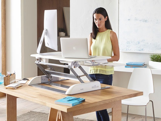 a Varidesk Pro Plus 36 height adjustable standing desk sweepstakes