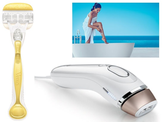 Gillette venus and olay razor competition