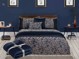 Julian charles blossom navy bedding competition