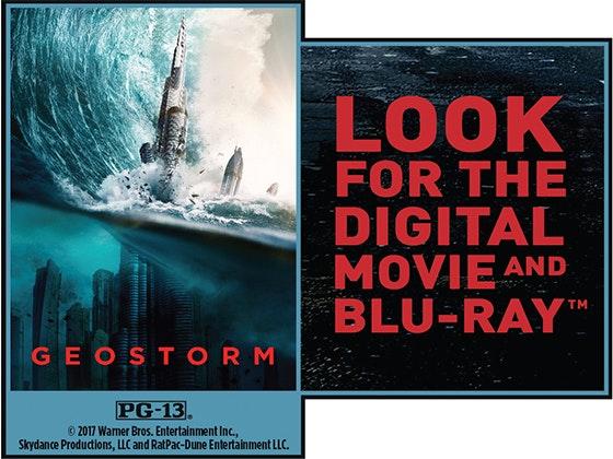 """Geostorm"" on Digital sweepstakes"